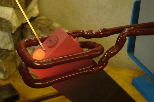 Flussmittelfreies Löten von Kupferteilen