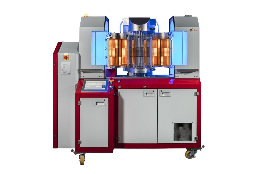 Automated vacuum brazing machine VVBM 200. Please click here for more information in a PDF brochure.